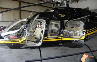 Bell 407 and Cessna