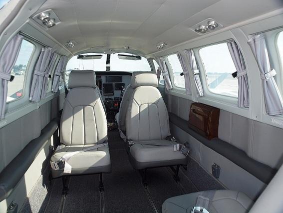 Carolina Avionic Aircraft Interiors Cessna T303