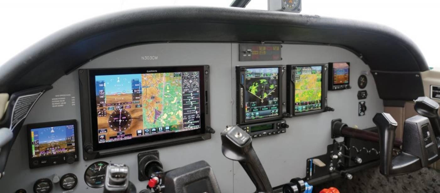 avionic dashboard