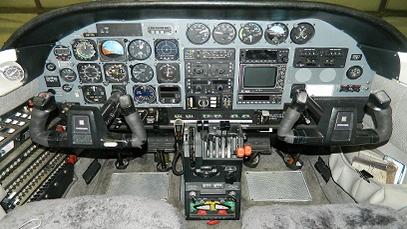 Cessna T303 Crusader – Before Avionics Installation