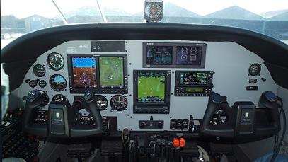 Cessna T303 – Crusader After Avionics Installation