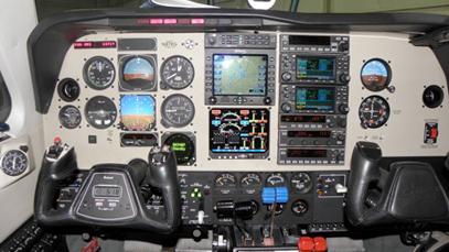 Baron 58 – After Avionics Installation