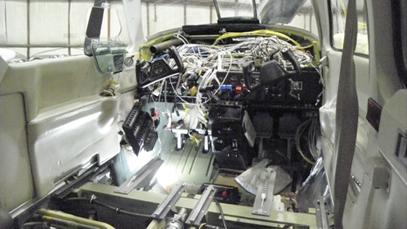 Baron 58 – Before New Avionics Installation