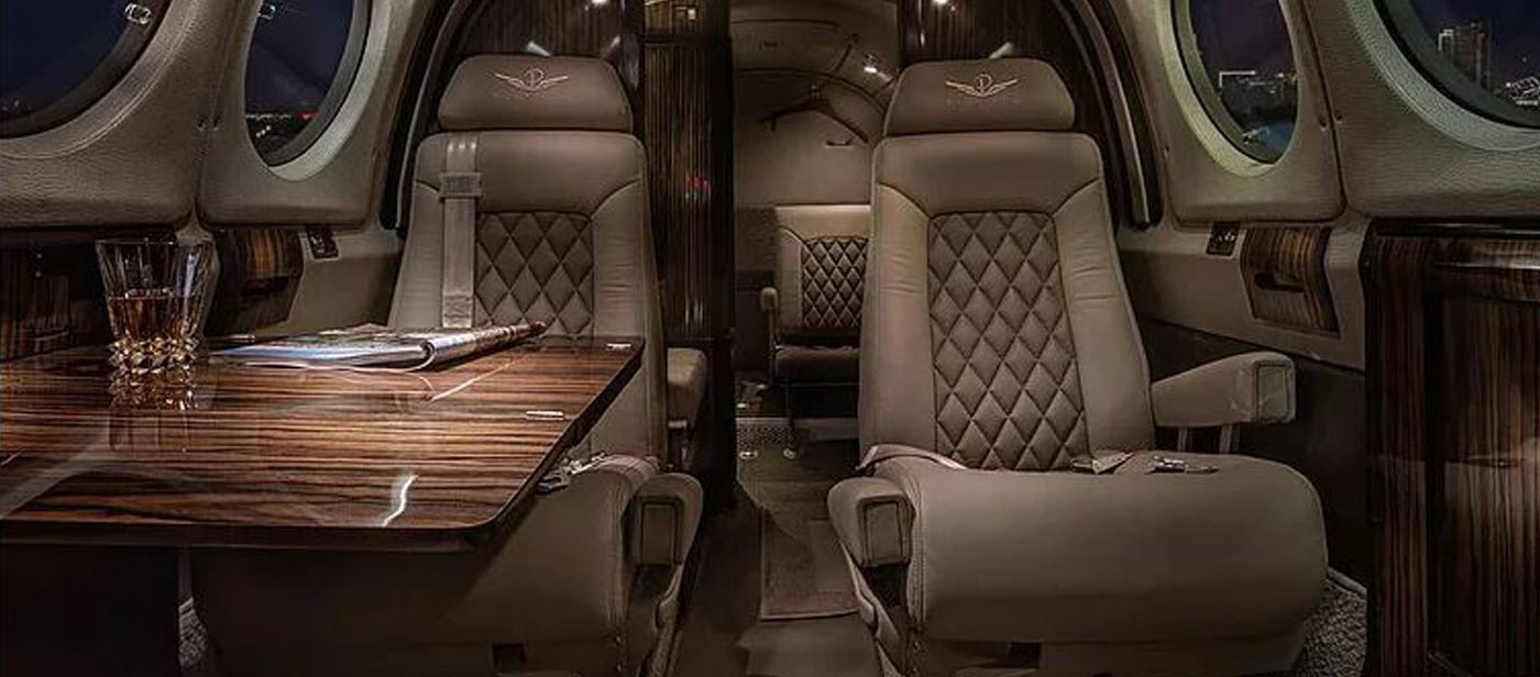 Custom Airplane Interior Seating