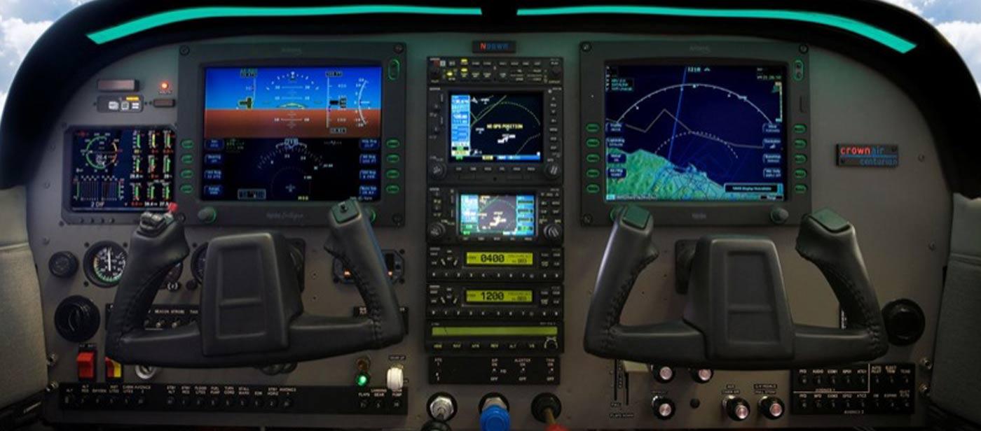 Custom Avionic Control Dashboard